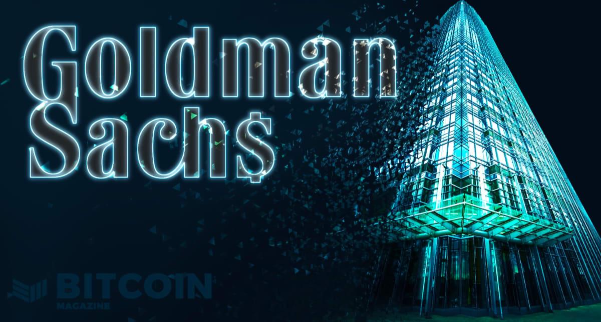 Goldman Now Trading Bitcoin Futures