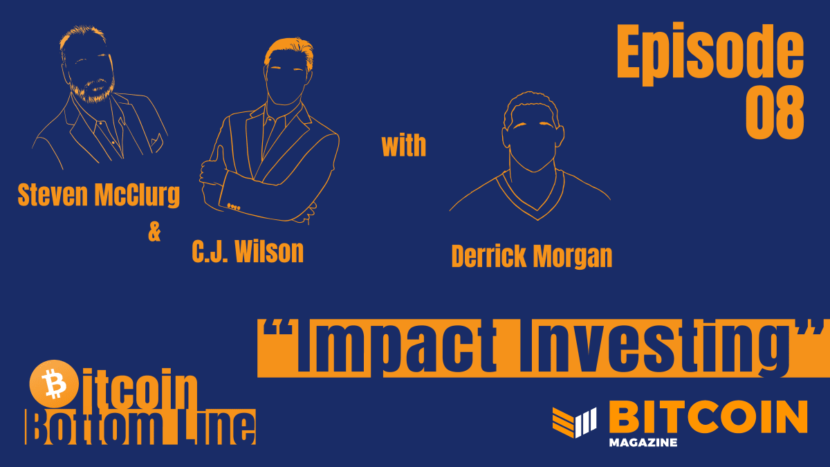 Bitcoin And Impact Investing With NFL Star Derrick Morgan
