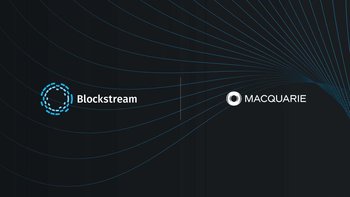 Blockstream Macquarie Explore Carbon Neutral Initiatives