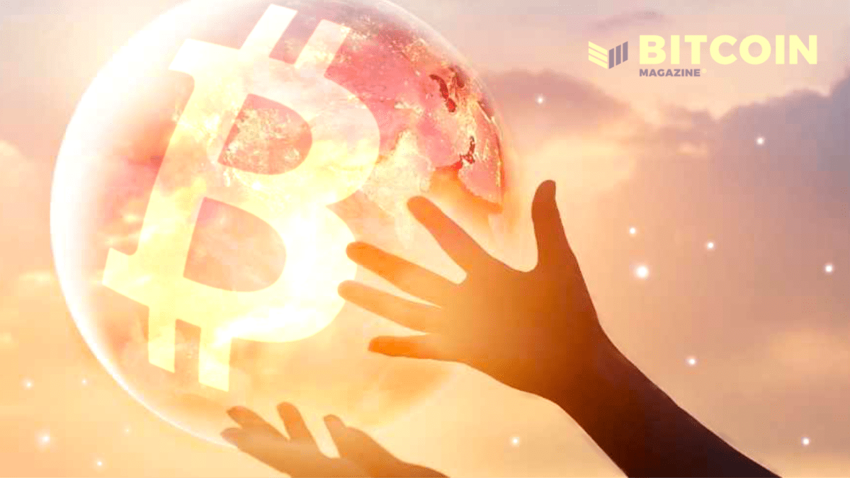 How Bitcoin Fixes The Money, Saves The World