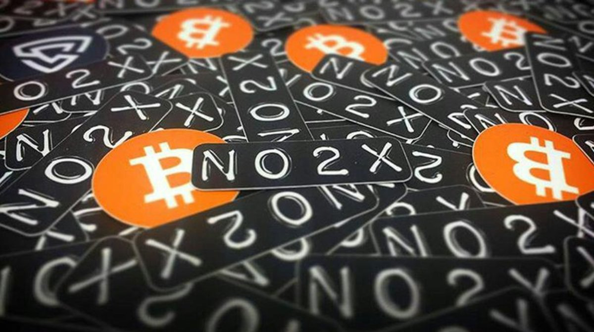 Technical - NO2X: Breaking Bitcoin Shows No Love for the SegWit2x Hard Fork in Paris