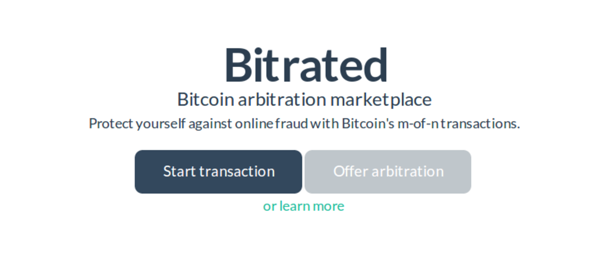 Op-ed - Bitrated: You Can No Longer Say Bitcoin Has No Consumer Protection