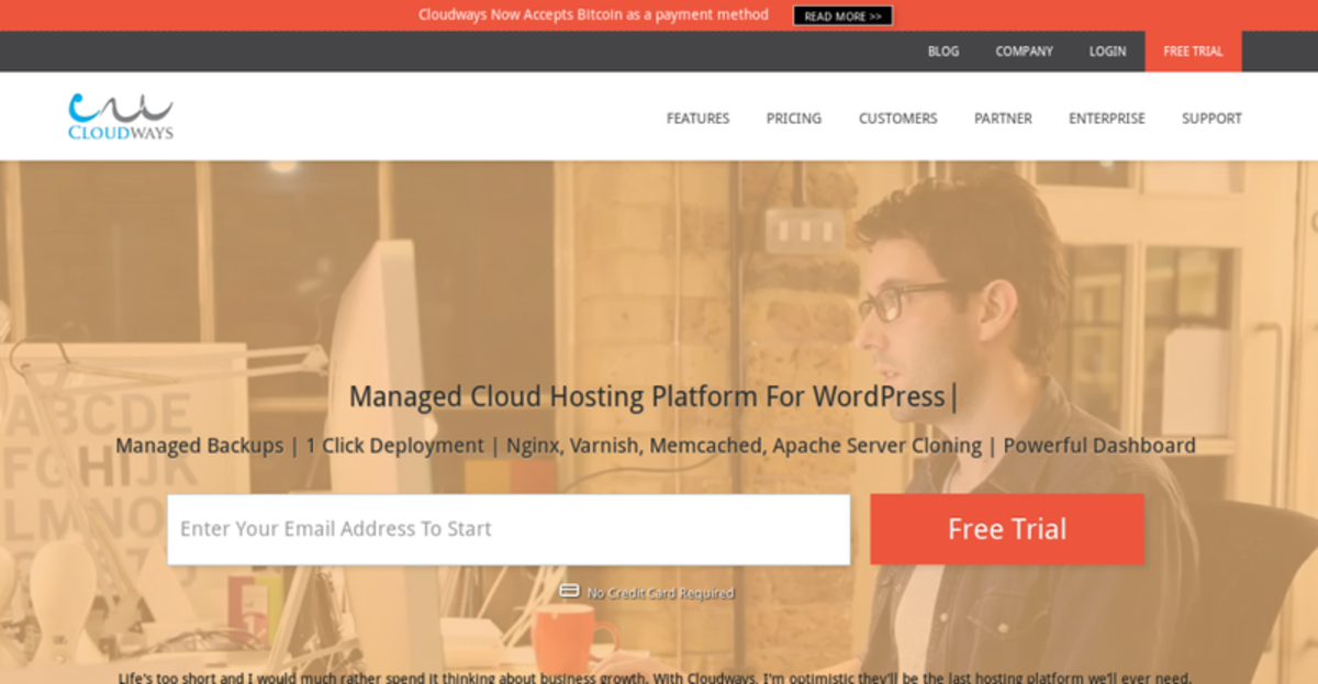 Op-ed - Bitcoin Now Accepted at Established Cloud Hosting Company Cloudways For All Web Hosting Services