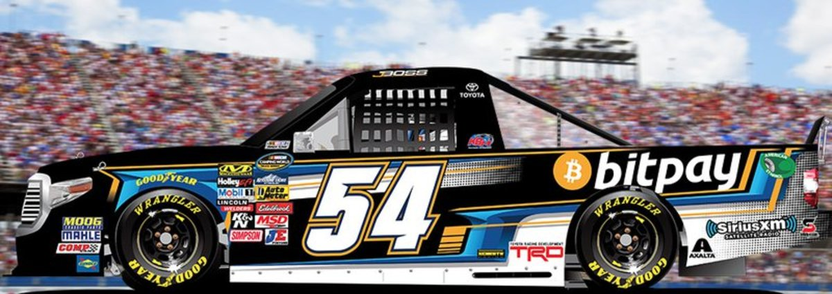 Op-ed - NASCAR Racer Justin Boston Heads to Daytona for BitPay