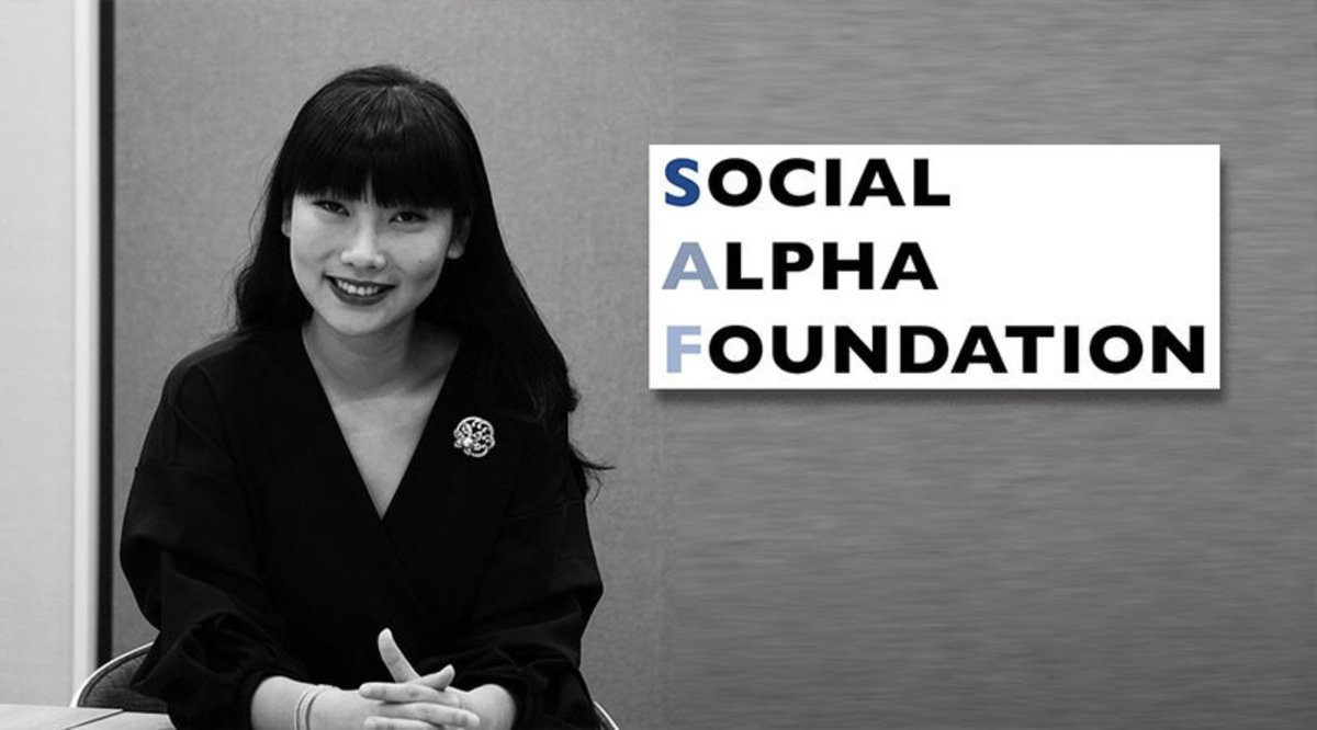 Blockchain - Nydia Zhang of the Social Alpha Foundation: Using the Blockchain for Good