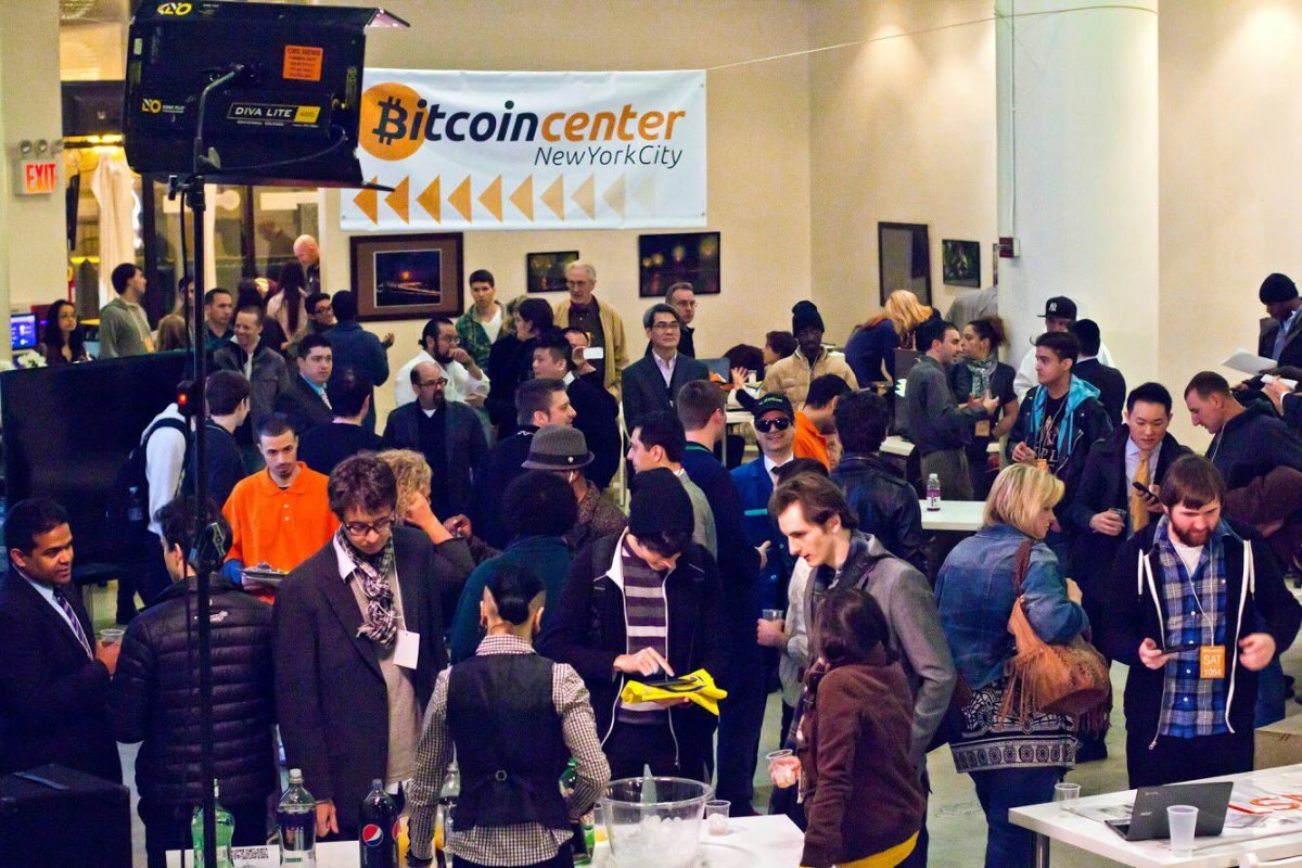Bitcoin Center NYC Satoshi Square event, 2014