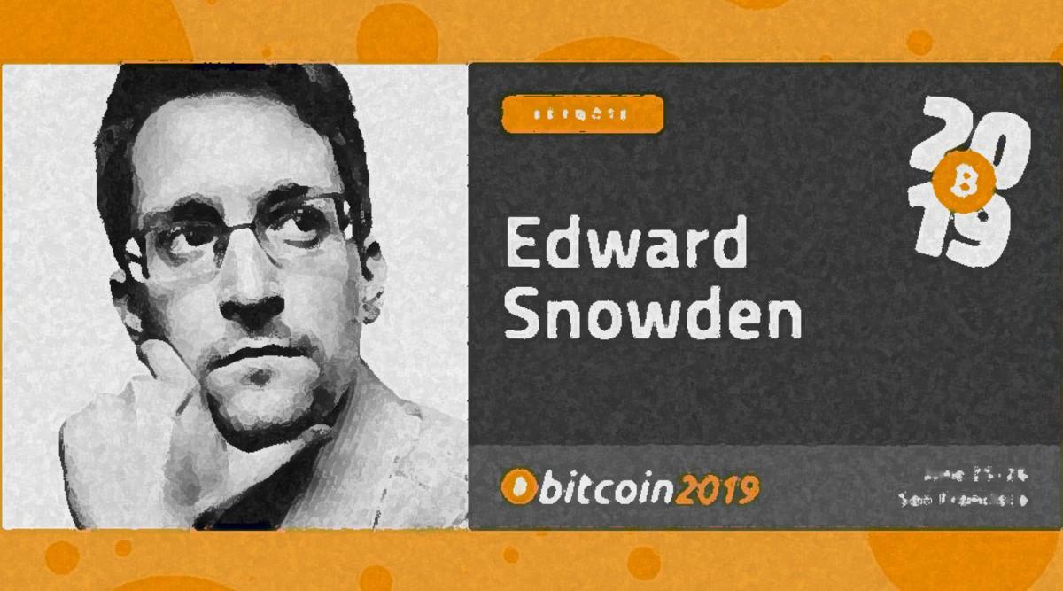 Snowdon at Bitcoin 2019
