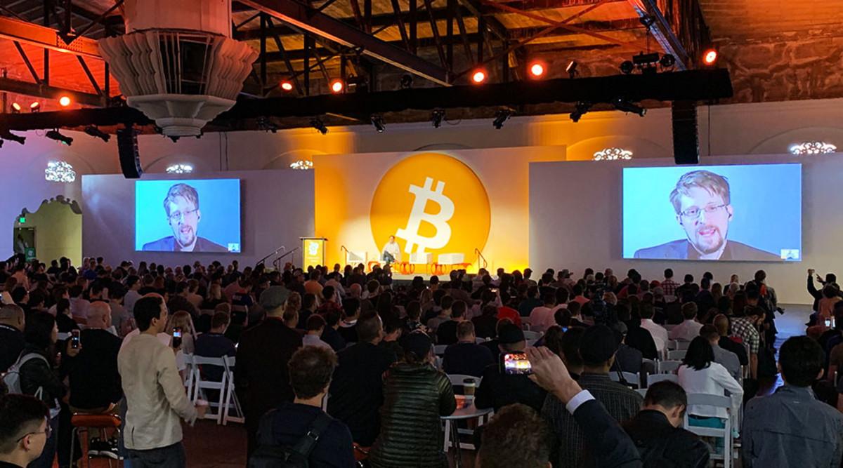 Edward Snowden at Bitcoin 2019