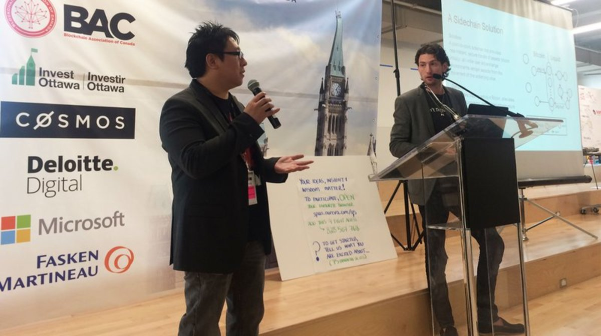 Technical - Samson Mow Introduces Liquid Networks at Blockchain Forum in Canada