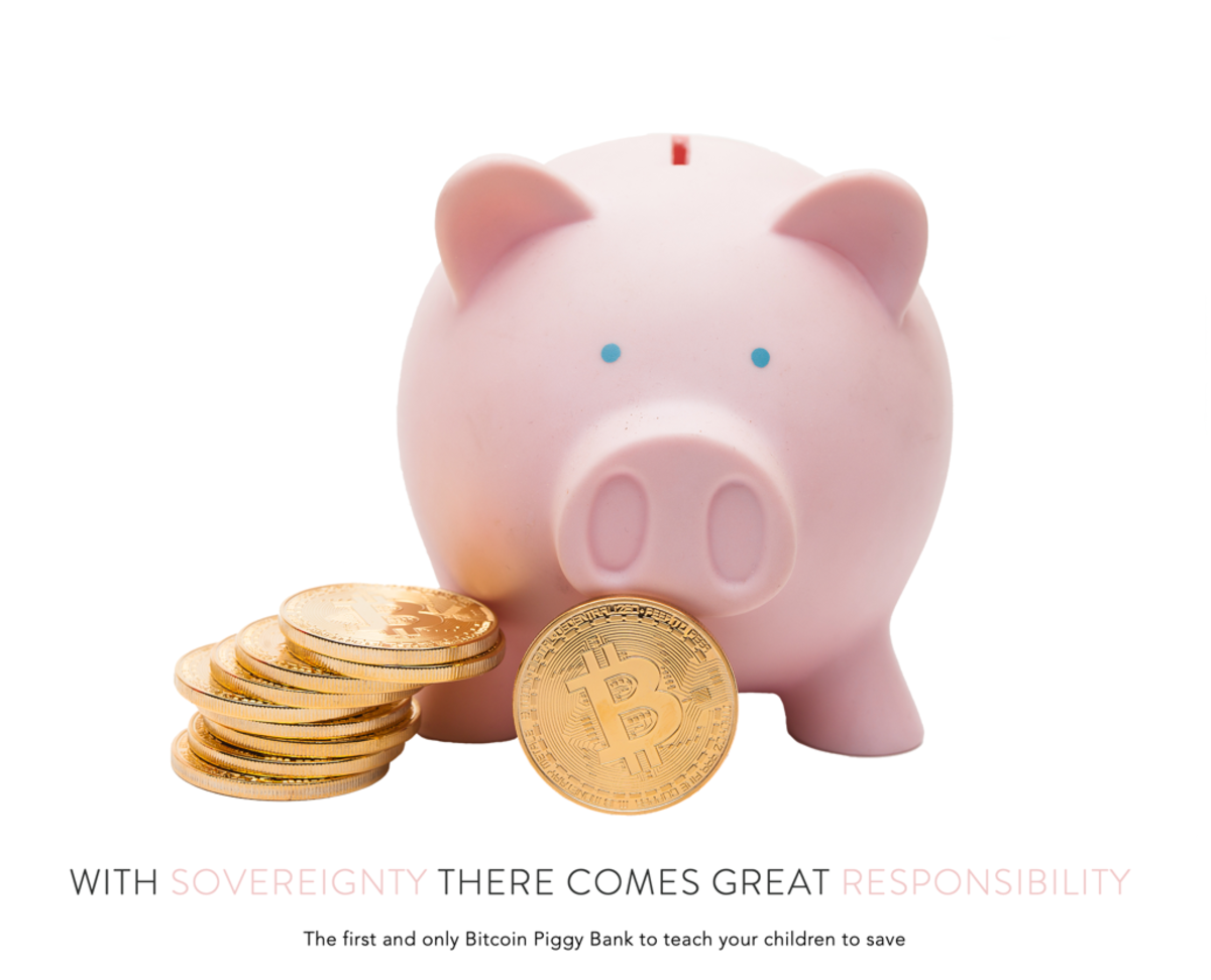 As an educational tool, BitPiggys teaches kids how to be responsible with their finances.