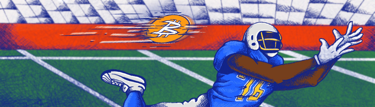 Pro Bowl NFL left tackle Russell Okung wants to be paid in bitcoin, seeing the cryptocurrency as not just money but the future.