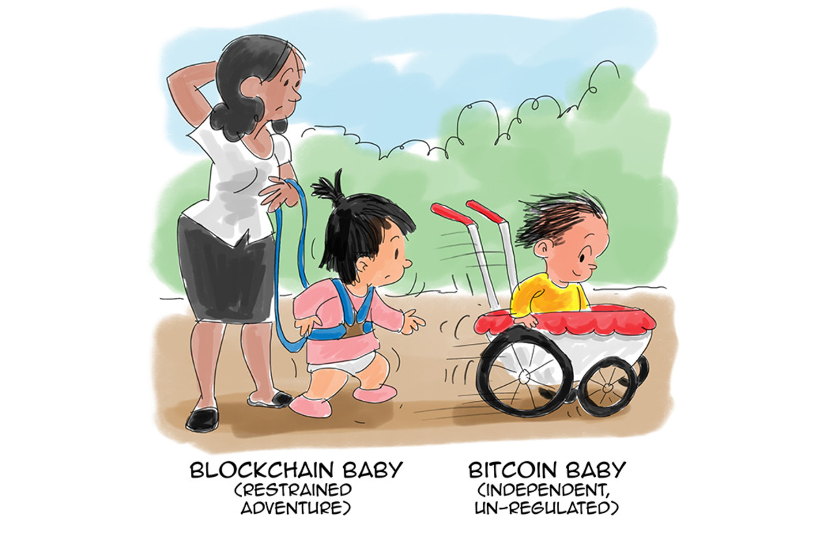 Cartoon: Bitcoin Baby