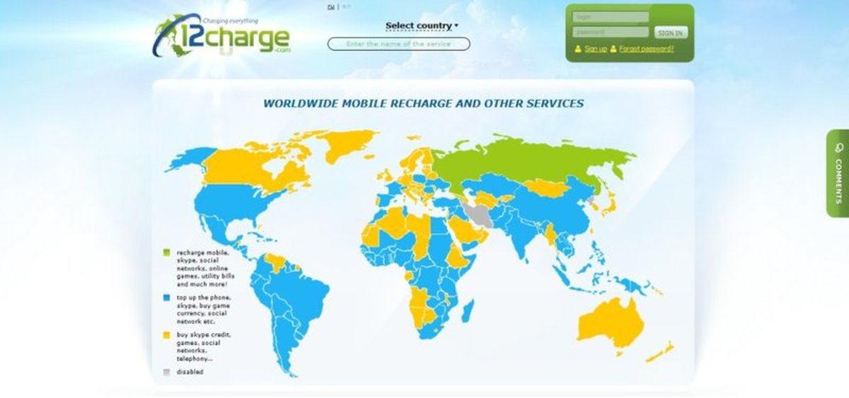 Op-ed - 12charge.com Launches Worldwide Mobile Recharge With Bitcoin