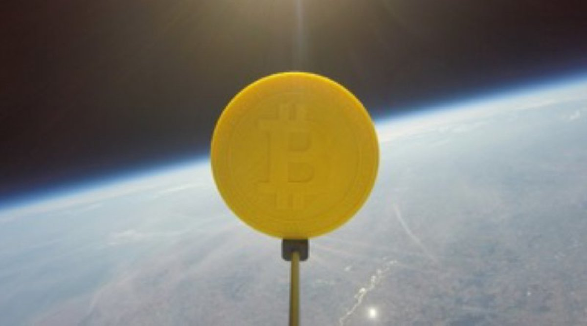 Adoption & community - Toward the Moon: Genesis Mining Sends the First Bitcoin Into Space
