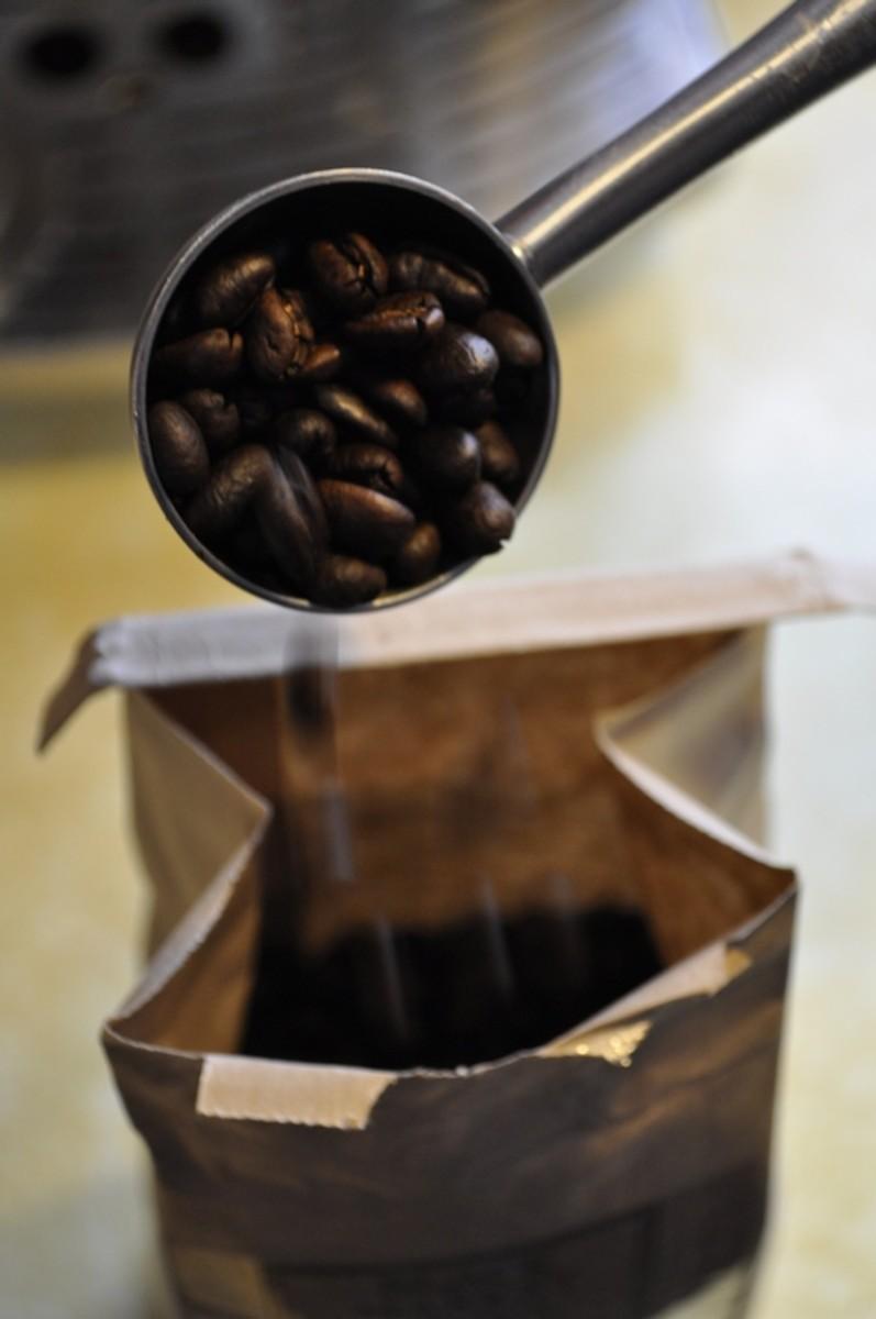 Getting coffee