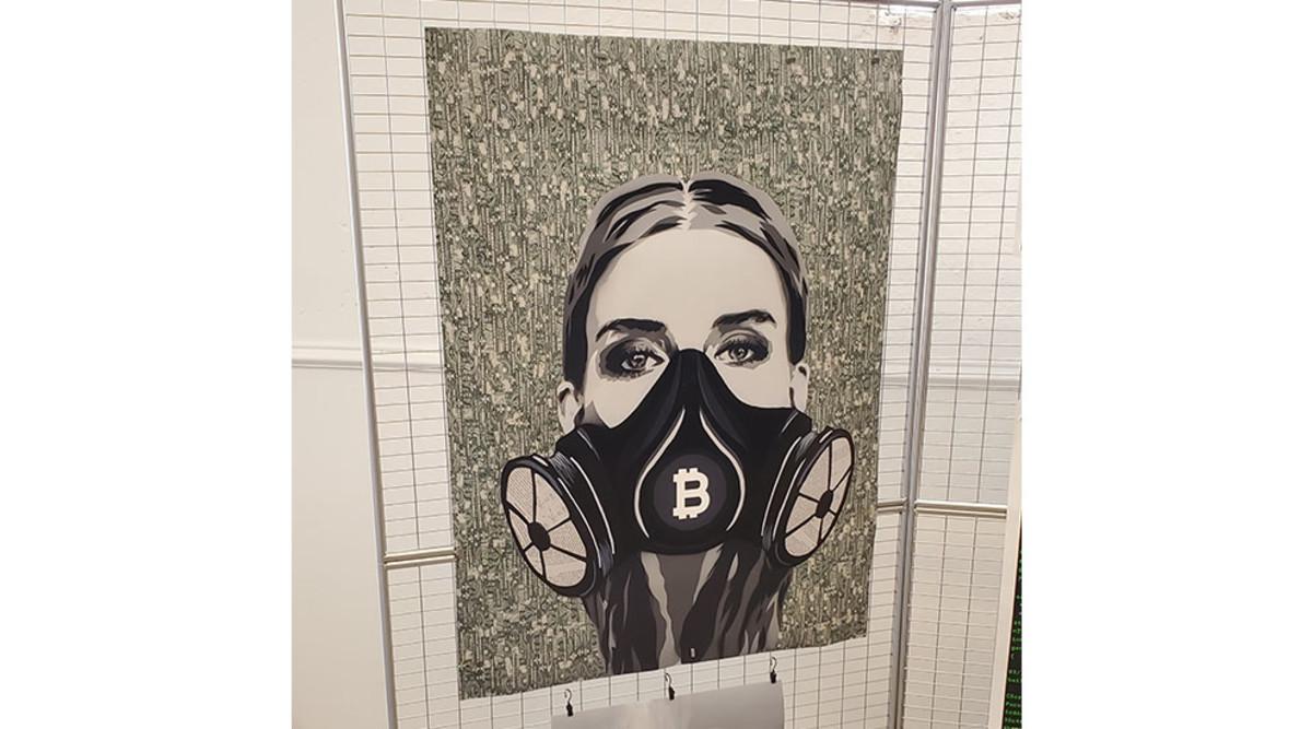 Bitcoin Art at Bitcoin 2019