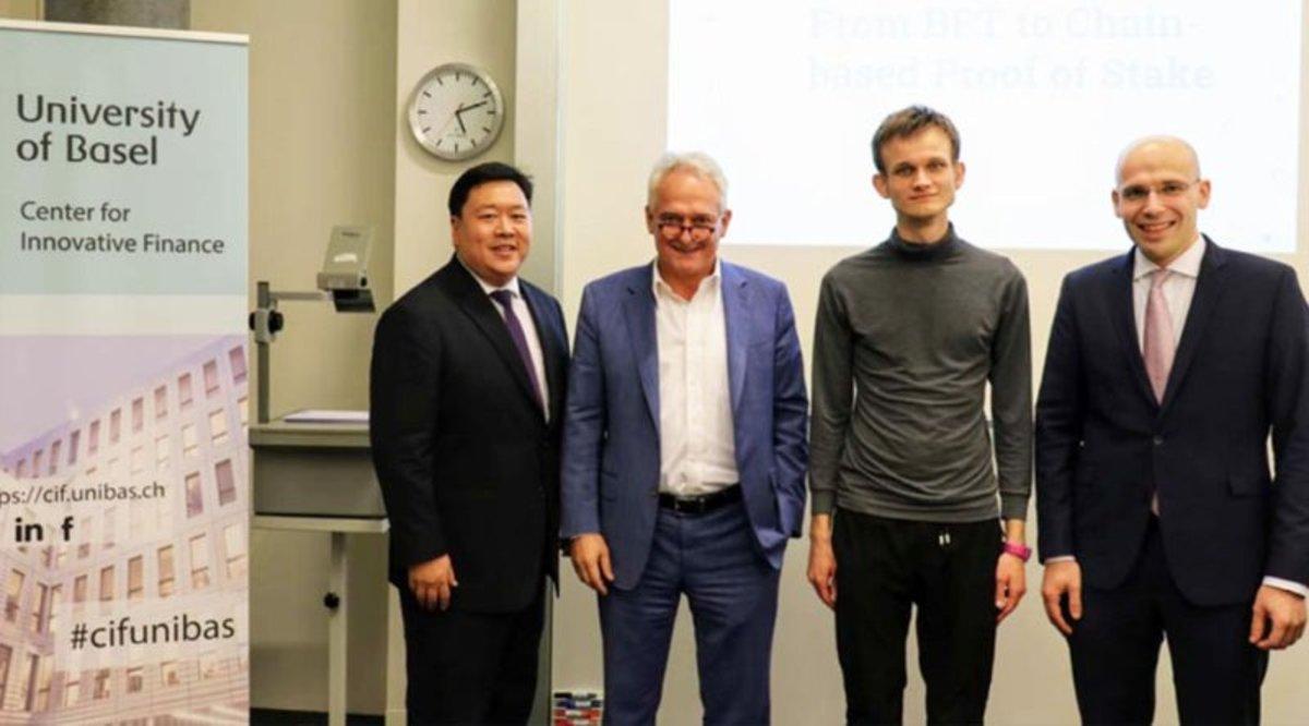 Adoption & community - Ethereum Founder Vitalik Buterin Receives Honorary Doctorate