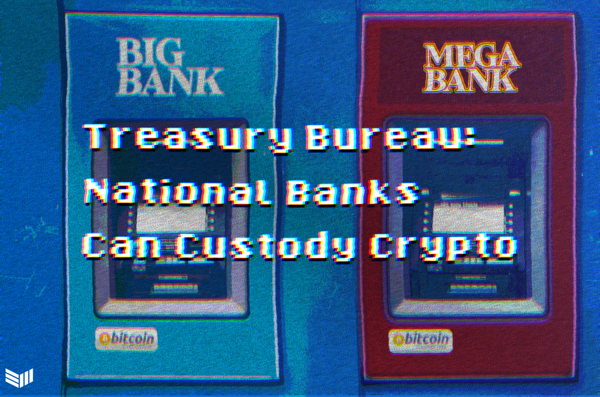 The Office of the Comptroller of the Currency has clarified that national banks can hold cryptocurrency keys, potentially ushering in a wave of new services from these financial institutions.