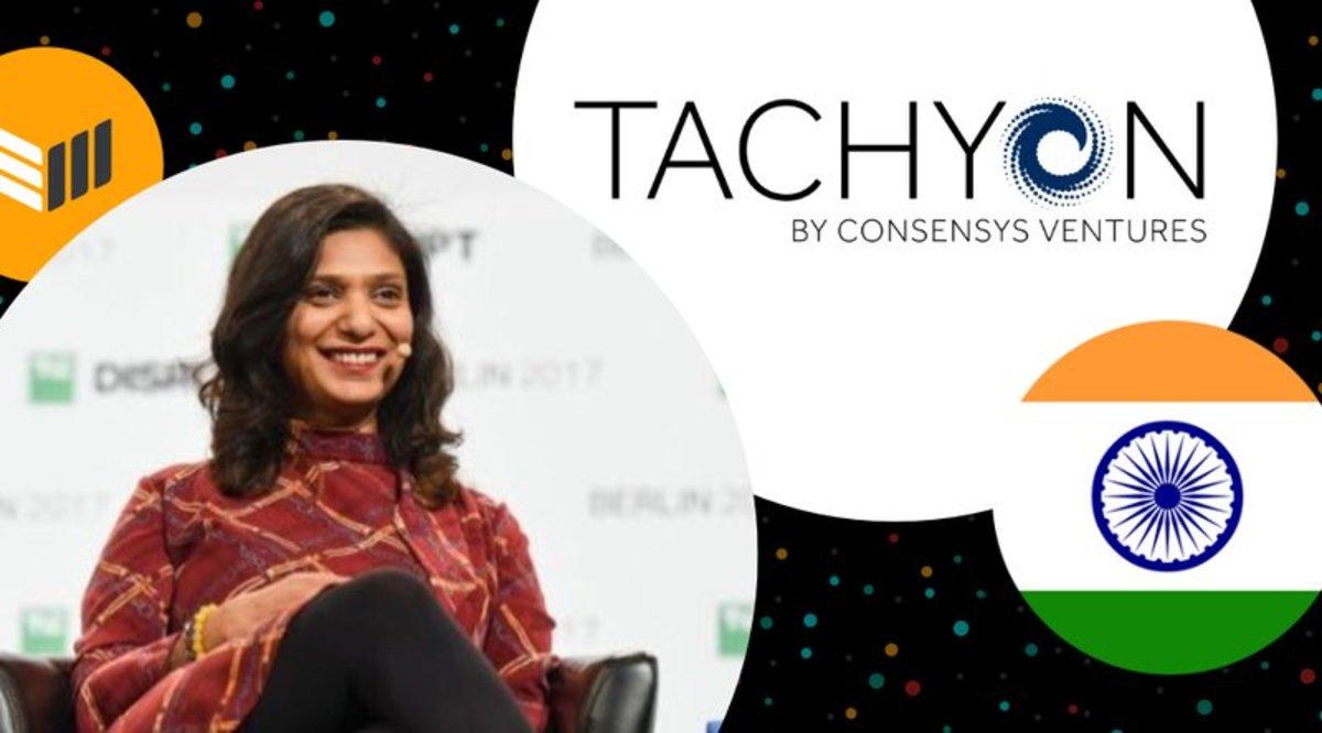 Investing - ConsenSys Ventures Kavita Gupta Talks Tachyon and India