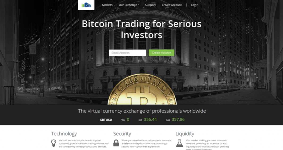 Op-ed - itBit to Launch as a Global Bitcoin Currency Exchange