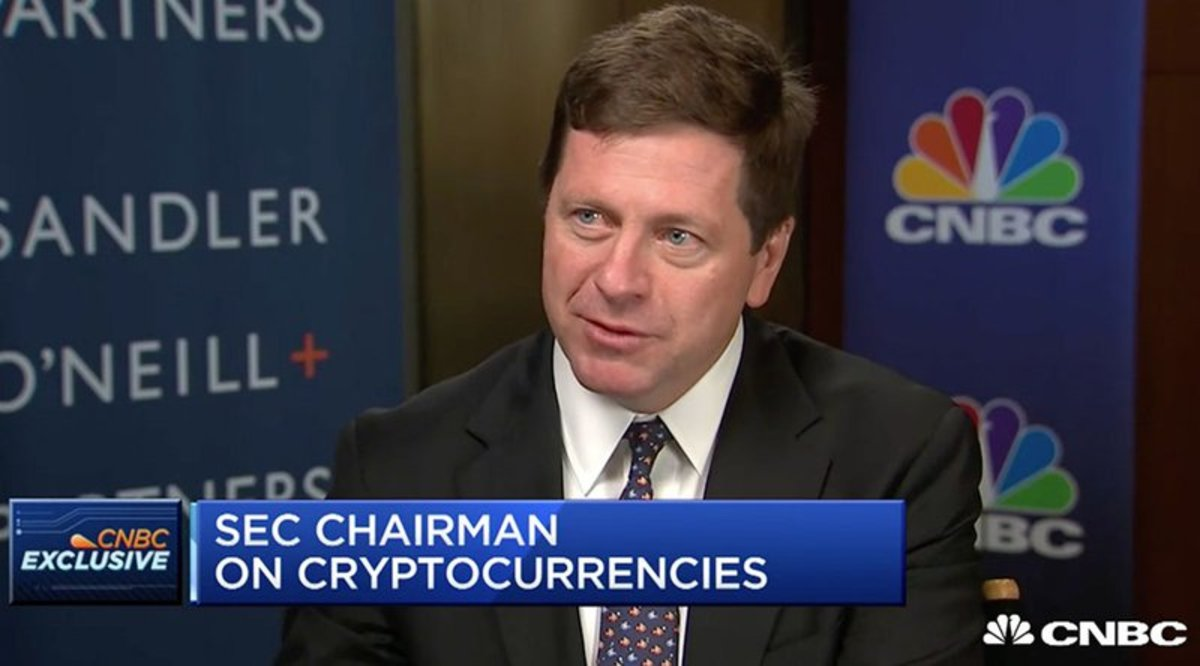 Regulation - SEC Chairman: Cryptocurrencies Like Bitcoin Are Not Securities