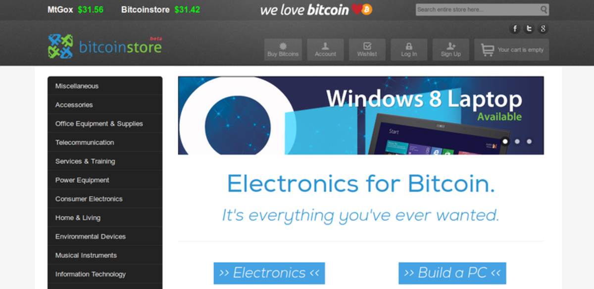 Op-ed - BitcoinStore Officially Launching Today