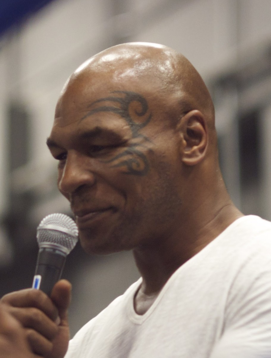 Image by Eduardo Merille - Mike Tyson Cropped from original image., CC BY-SA 2.0