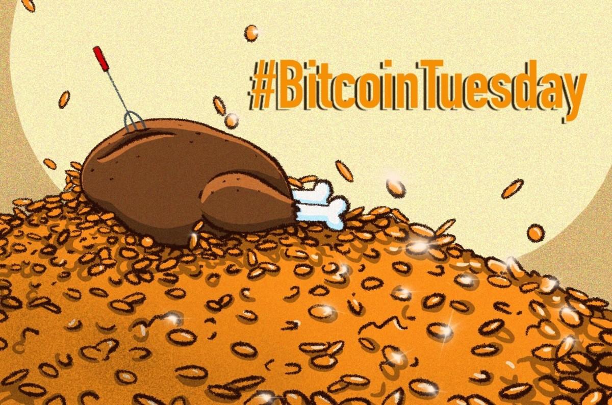 Giving Tuesday Bitcoin Tuesday