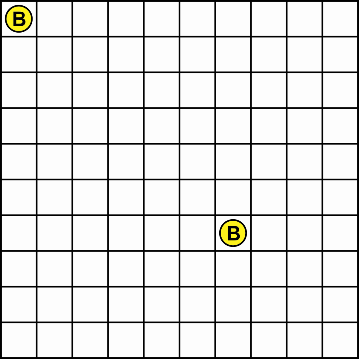 Figure 4: the first player draws two coins