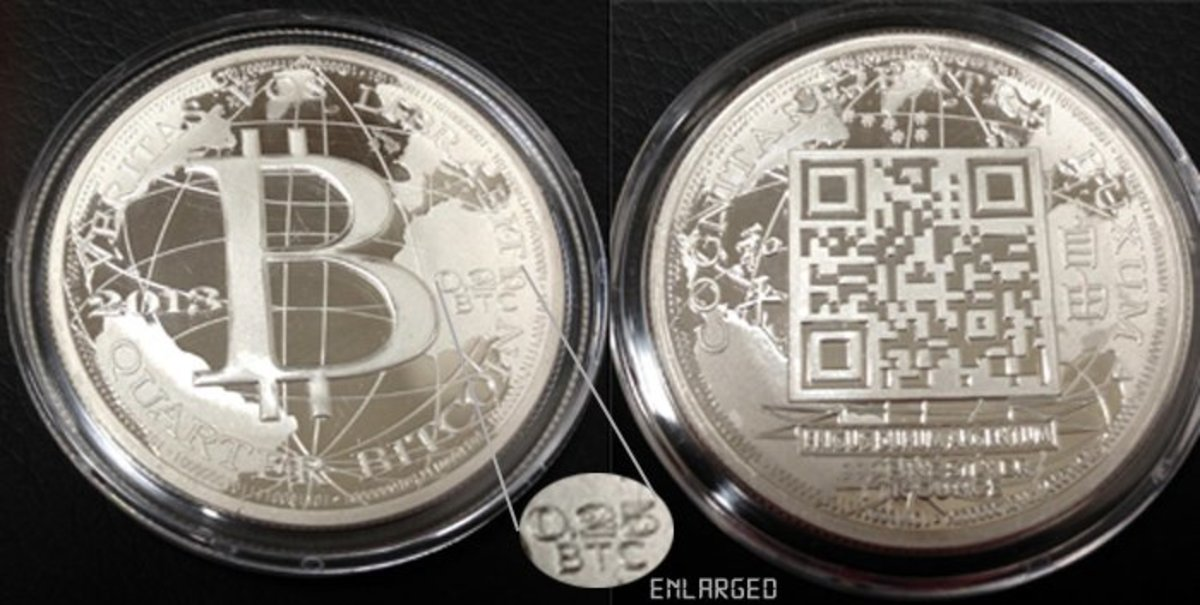 Adoption & community - New Liberty Dollar Silver QR Coin Obtains Live Bitcoin Prices