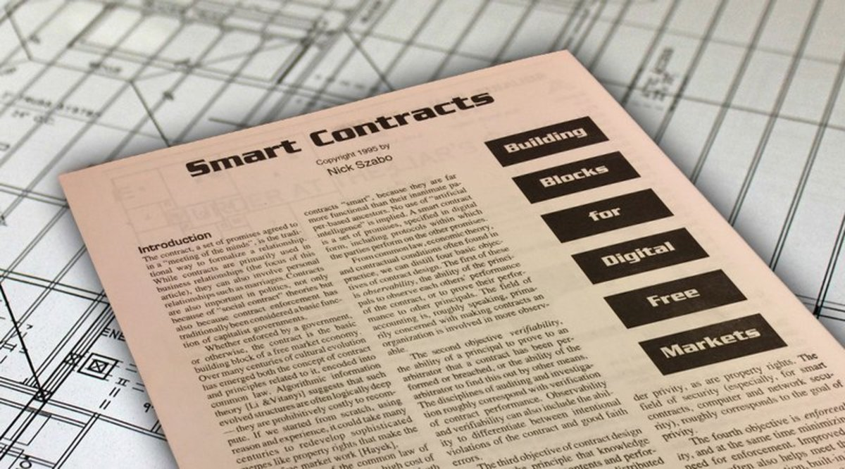 Investing - Smart Contracts Described by Nick Szabo 20 Years Ago Now Becoming Reality
