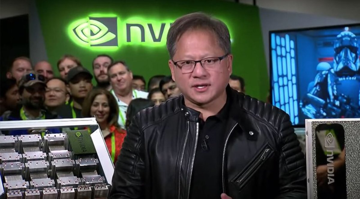 "Mining - NVIDIA CEO: ""Cryptocurrency Is Here to Stay"""