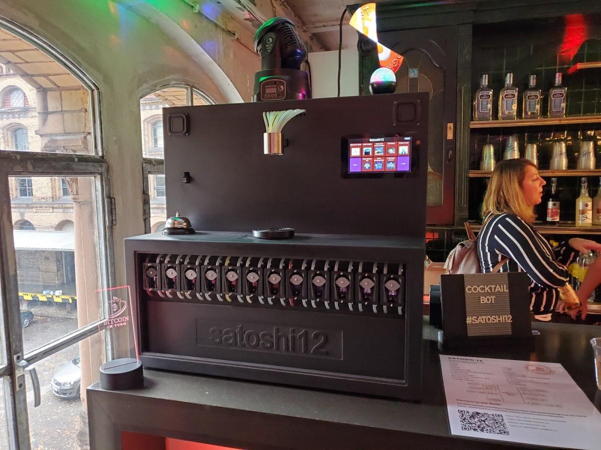 The Satoshi 12 punch mixer
