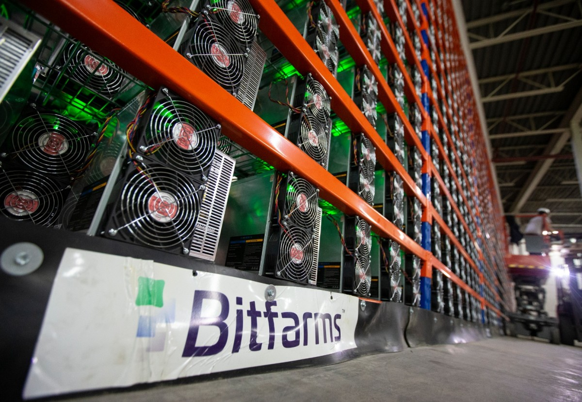 Bitfarms is using miners from several different Chinese manufacturers: Innosilicon, Bitmain and MicroBT.