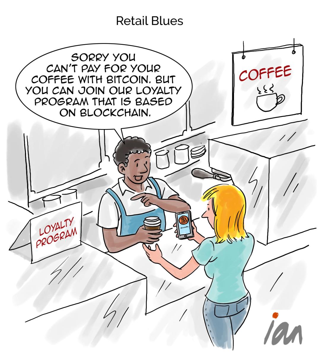 Cartoon: Retail Blues