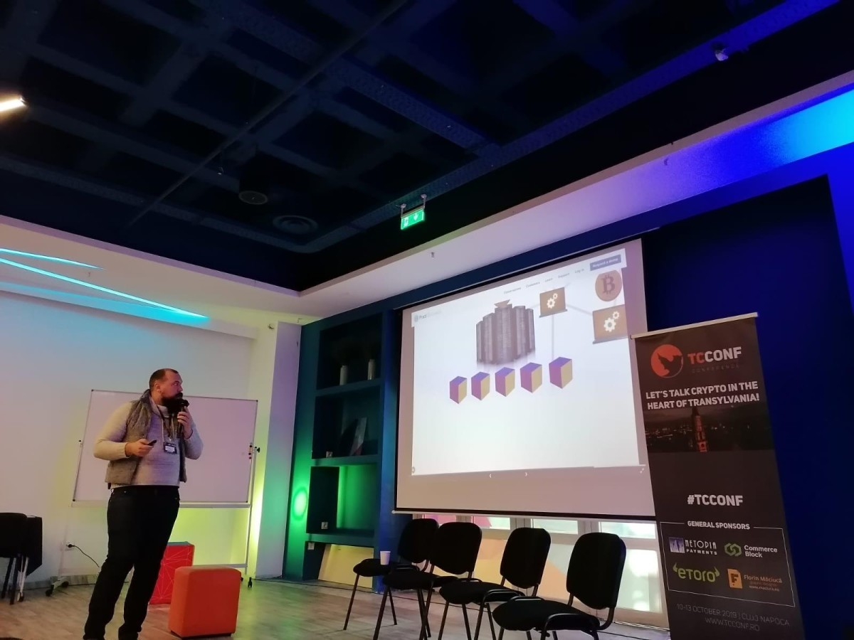 At the Transylvania Crypto Conference in Cluj, Romania, nopara73 presented some of his plans for Wasabi Wallet.