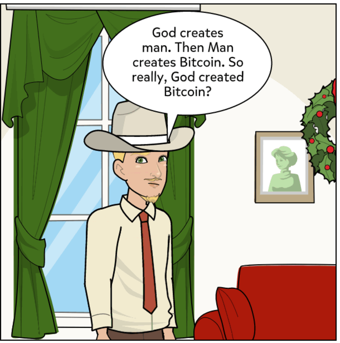 Pitching bitcoin evangelical