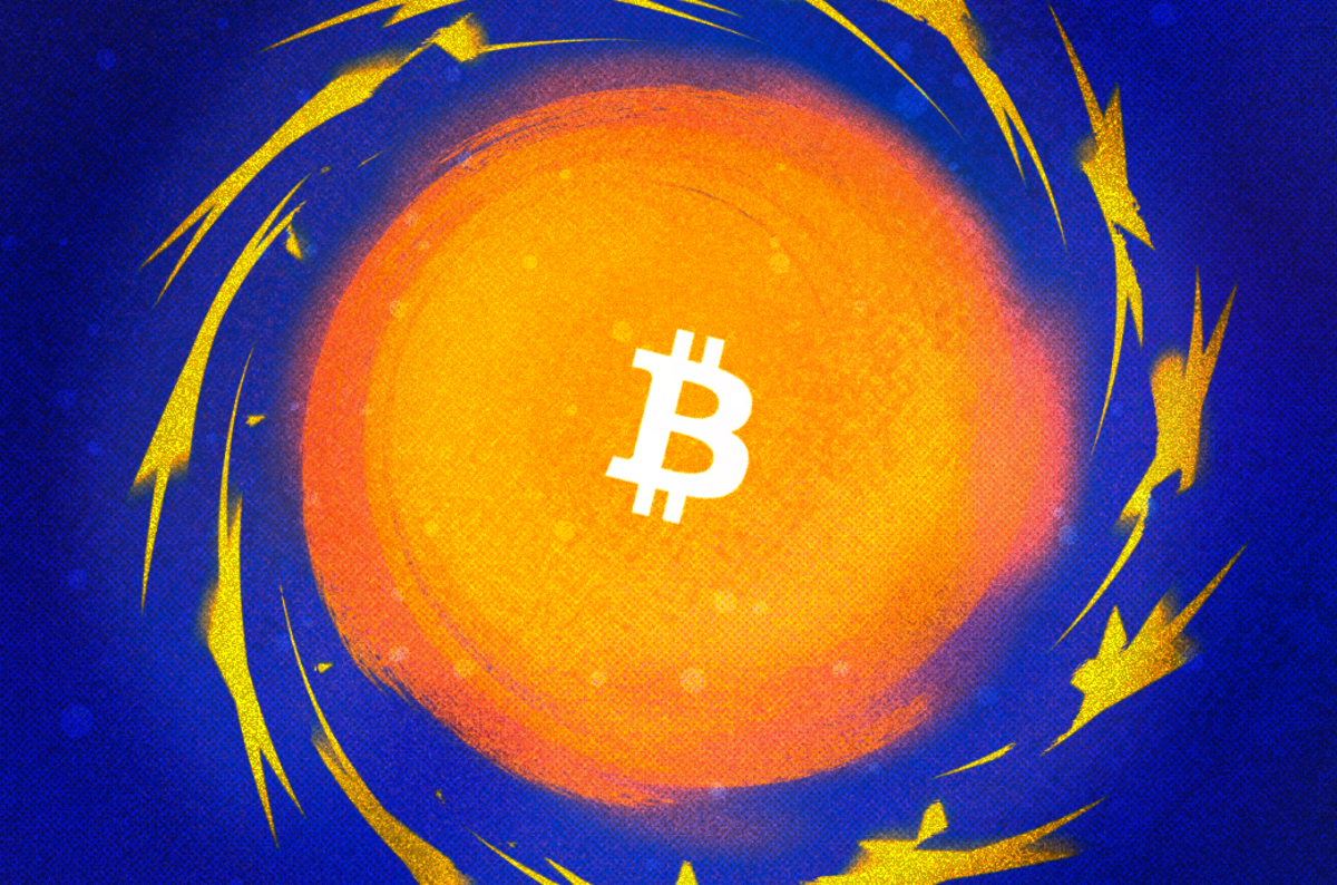 Op Ed: Tendencies and Opportunities of Bitcoin Taxation in the EU - A close up of a bright light - Bitcoin