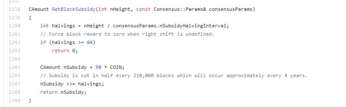 Bitcoin source code
