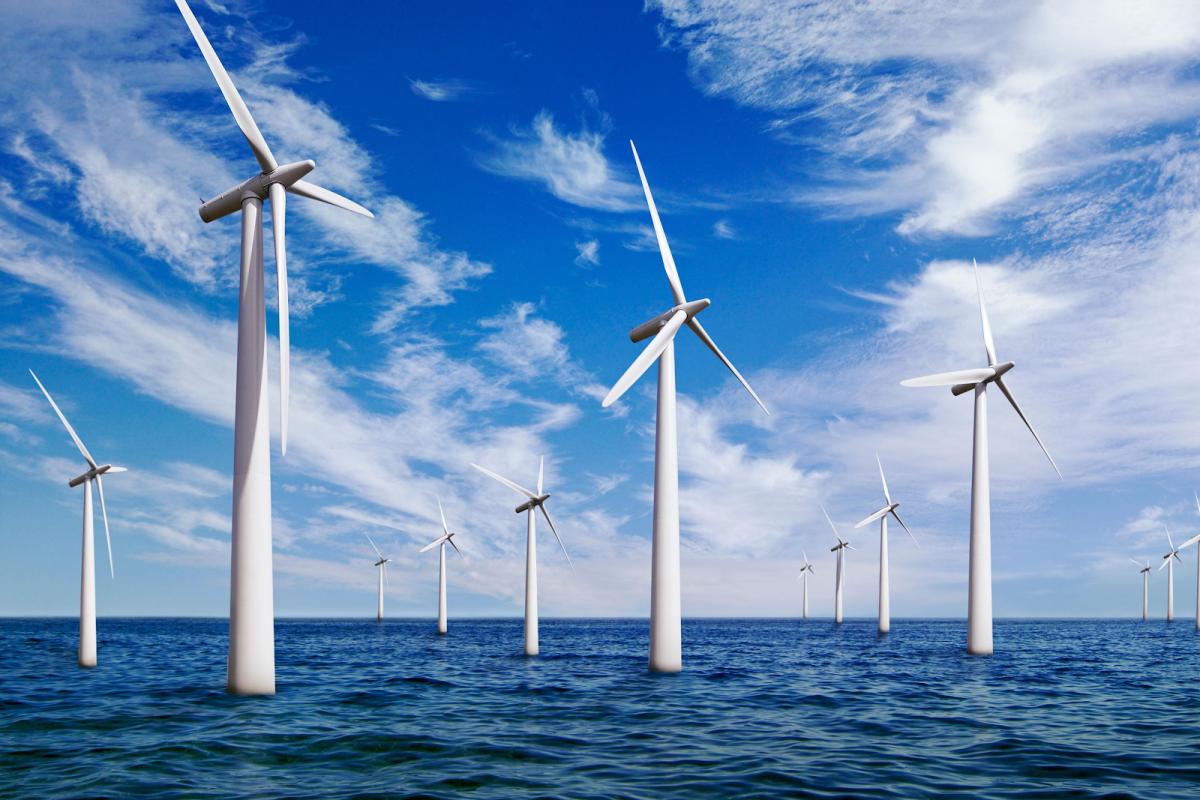 远离人口中心的丰富能源,如海上风能,是比特币挖矿的有吸引力的选择。 资料来源:时报。