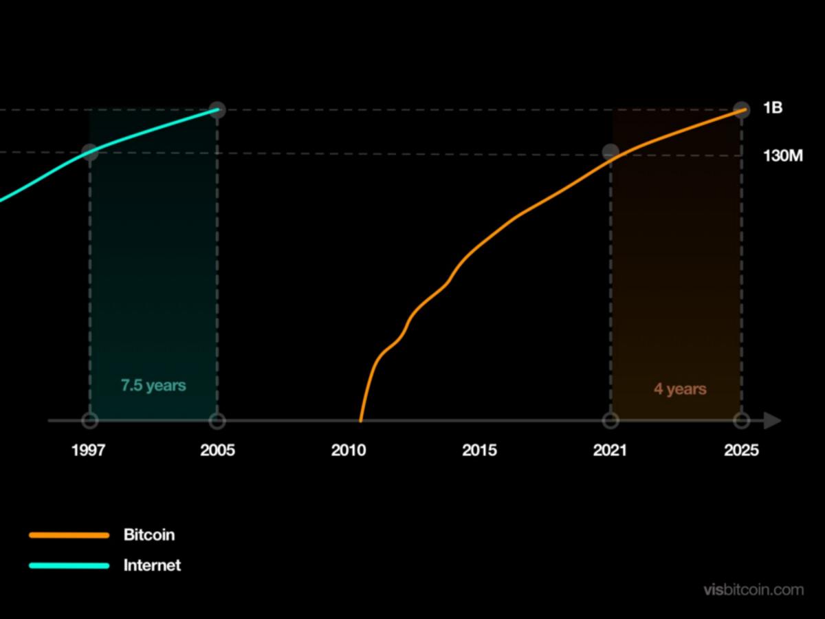 chart depicting bitcoin adoption
