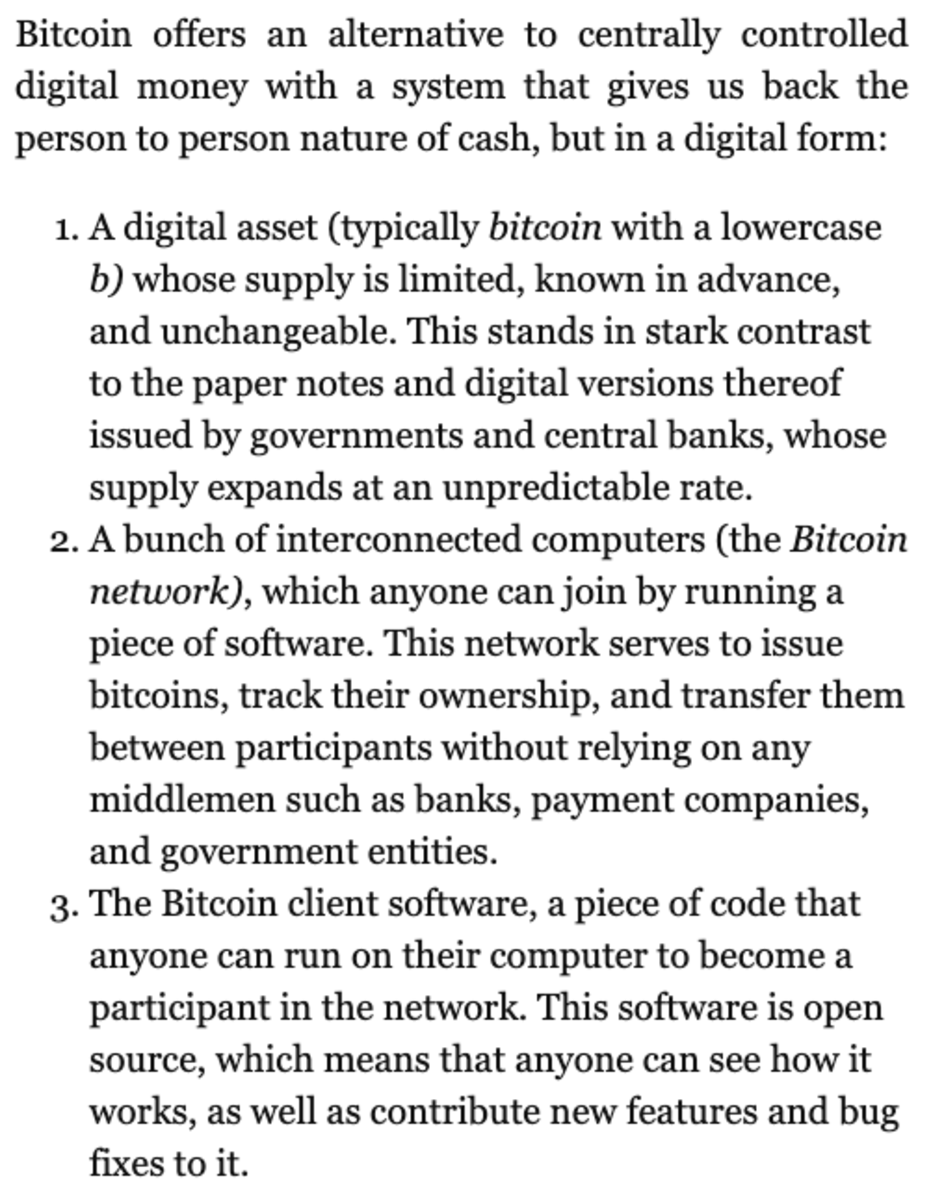 2nd excerpt from Inventing Bitcoin