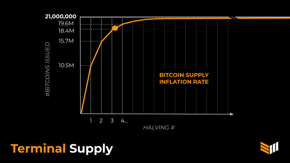Bitcoin is inflation resistant money because it has a fixed supply. That's why bitcoin is called hard money.