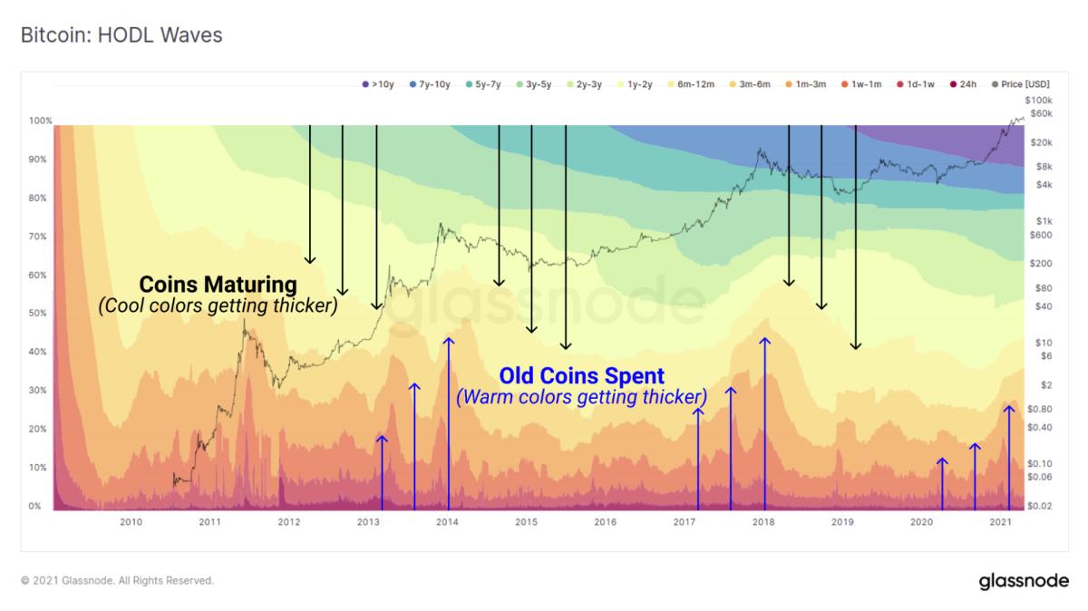 Bitcoin: Hodl waves