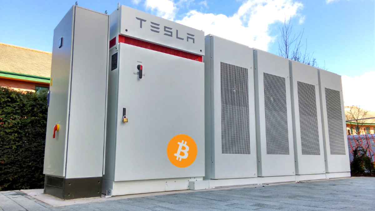 level 39 bitcoin enabled tesla battery solar power