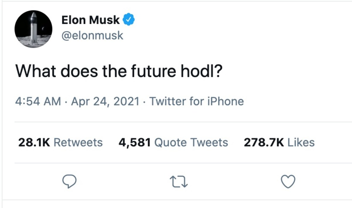 elon musk tweet what does the future hodl level 39
