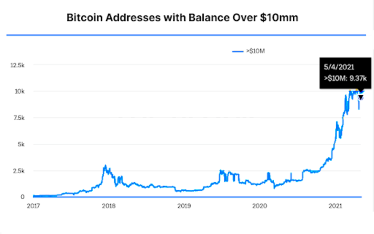 """The number of """"bitcoin millionaires"""" is booming, but there's still a lot of room for growth, which will propel the bitcoin price as well."""
