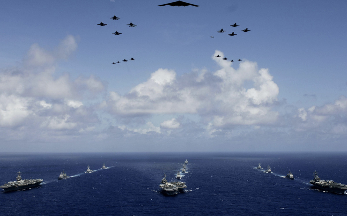 They're coming China sea america
