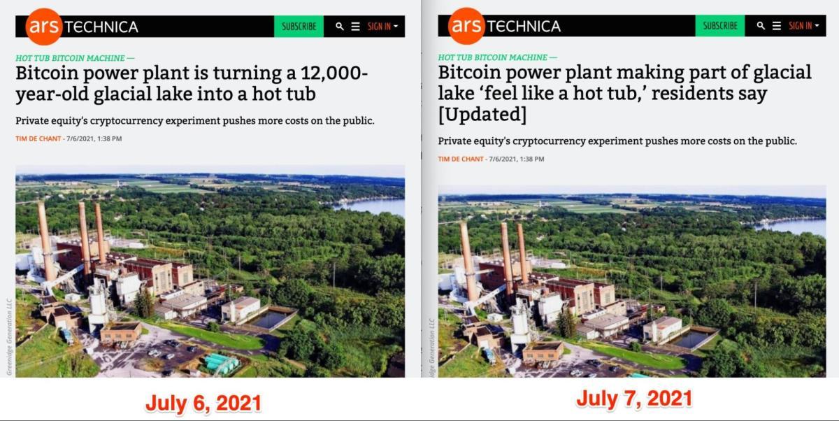 ars tecnica bitcoin power plant story