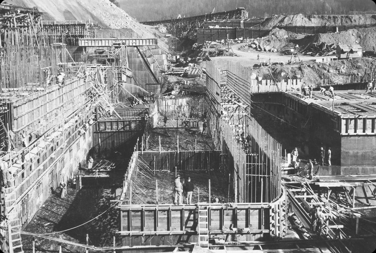 power generation facility building construction